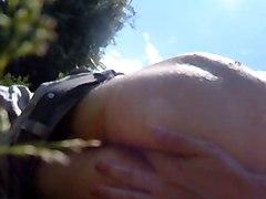 Anal Fingering Outside