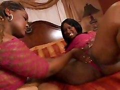 Two Ebony Girls Get Fucked
