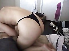 Natural G Cups Girlfriend Sucking And Riding