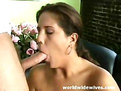 Girlfriend Sucking Hardcock