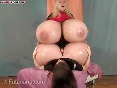 Giant Boobs Vs Giant Cocks