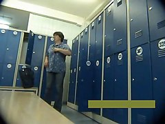 Middle Aged Mother Undresses In Locker Room