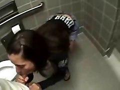 Good Sex In Public Bathroom