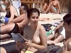 Hot Girl At Beach