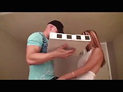 Pizza Guy Fucks A Hot Blonde