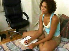 Sexual Private Lessons For Black Babe