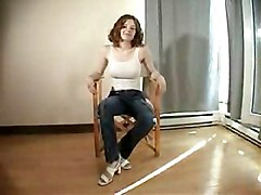Christine Stripping Slowly