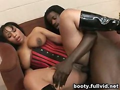 Big Booty Black Cumshot