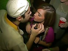 Sex At Party In Club