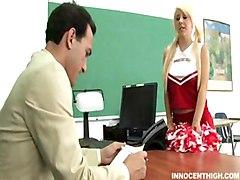 Tessa Taylor Makes It Hard For A Teacher