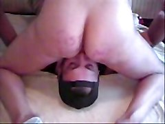 Wife Dripping Lover&039;s Cum Into Cuckold Hubby&039;s Mouth