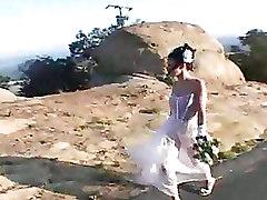 Naughty Brides Jilted Have Double Penetration Gang Bang