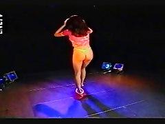 Leah Harper Sexy Strip
