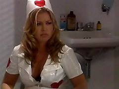 Nurse In Pvc Outfit Sucking
