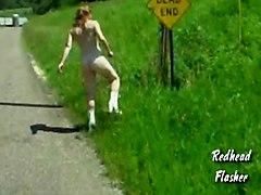 Redhead Flasher