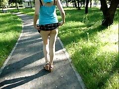 Fuckable Bitch   In A Park