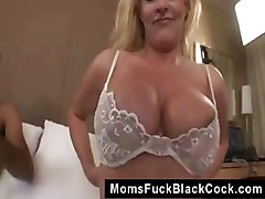 Sexy Mature Busty Blonde Shasha Gets Interracial Fuck