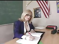 Milf Teacher In Glasses Gets A Classroom Hardcore Fucking