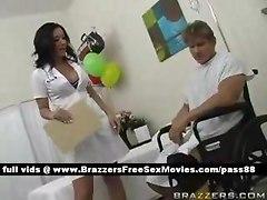 Busty Doctor Teasing