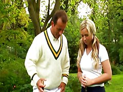 Robyn Truelove Fucks Her Cricket-teacher