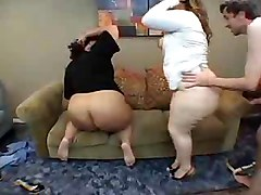 Two Bbw Fucks With Skinny Man