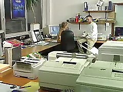 Hormonal Teen Babe Gets An Office Fucking