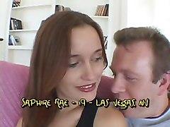 Trashy Teen Saphire Rae Gets Naughty!