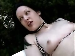 Bikini Masturbation To 80s Suspense Movie Music
