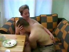 Russian Granny And Boy 102