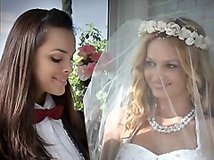 Beautiful Lesbian Brides