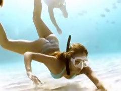 Jessica Alba Undersea Adventure