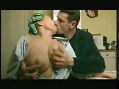 Mature Wife Gives Blow Job To Soninlaw Kitchen