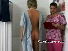Catrina Sees Her Doctor For Full Lesbian Gyno Exam