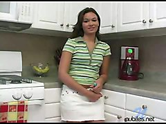 Crissy In Kitchen Vibrator At Nubiles