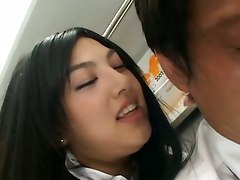 Asian Hot Handjob In Bus
