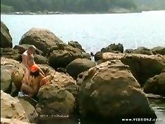 Amateur Porn On The Stone