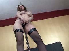 Very Sensual Girl Streeptease And Hairy