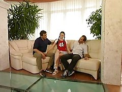 Jenny At Group Teen Casting