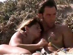 Spying On A Nudist Beach