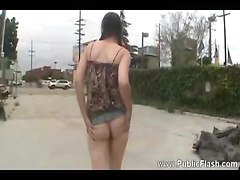 Some Public Flashing Of The Girl In Pigtails