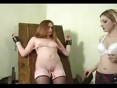 Redhead Bound And Punished