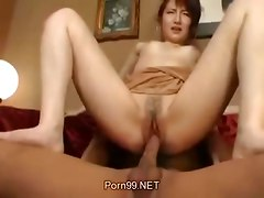 Asian Fucked By A Dick And A Toy