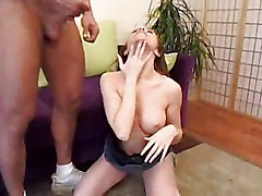 Horny Milf Receives Her First Anal