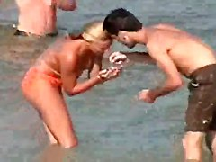 French Beach - Topless Teens