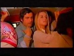 Gloria Guida With Nino Castellano In A Bus