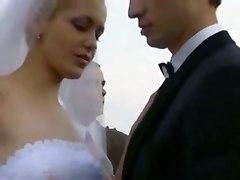 Outdoor Bride Gangbang