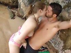 Cute Teen Beach Sex