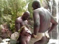 Black Hunters Fucking Their White Prey