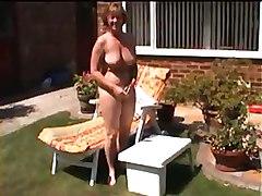 Sue In The Garden