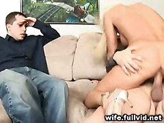 Hot Blonde Wife Fucked